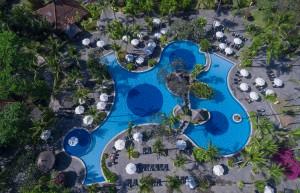 4. Arieal View - Melia Bali  (1)